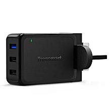 Tronsmart W3PTA 42W 3 USB port Qualcomm Quick charge 3.0 Travel Charger QTG-W