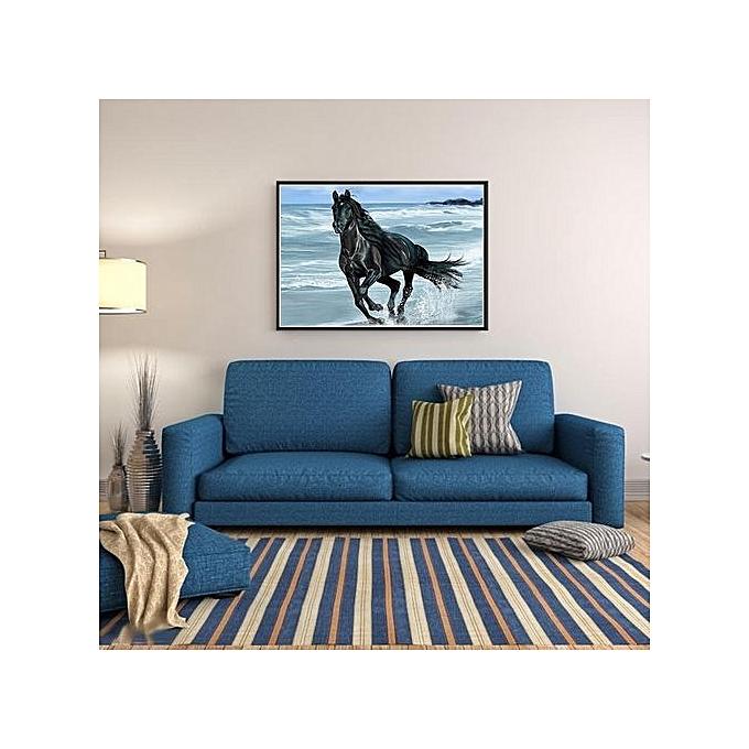 Generic Running Horse 5d Diamond Diy Painting Kit Home Decor Craft 40 X 30cm Jumia Kenya