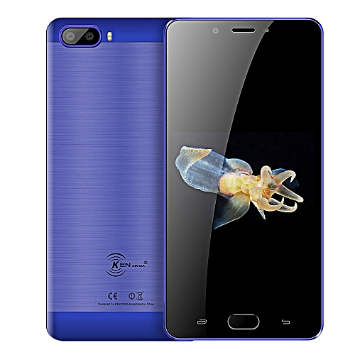 S9 4G Phablet 5.5 inch Android 7.0 MTK6737 Quad Core 2GB RAM 16GB ROM-BLUE