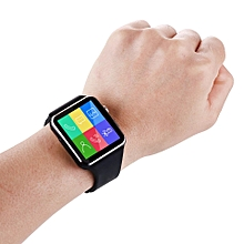 Smart Watch With Simcard and SD card Slots - Black
