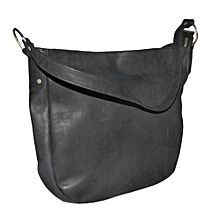 Black Simple Handbag