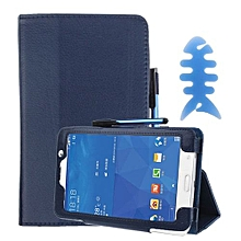 Leather Case Stand Cover For Samsung Galaxy Tab 4 7Inch Tablet SM-T230 BU