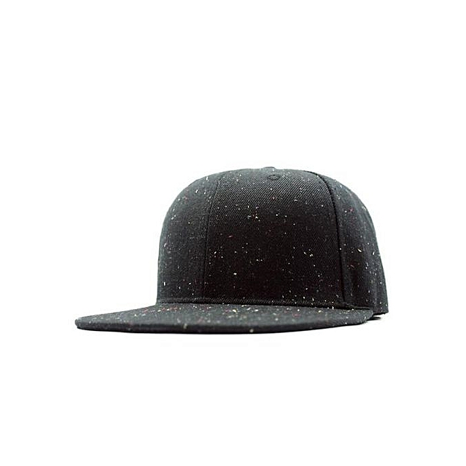 Men Women Plain Baseball Cap Snapback Hat Hip-Hop Adjustable Trucker Bboy  Cap BK 0a9a6de7c26