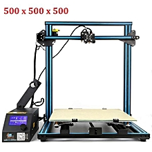 Creality 3D CR-10S Customized 500*500*500 Printing Size DIY 3D Printer Kit With Z-axis Dual T Screw Rod Motor Filament Detector 1.75mm 0.4mm Nozzle