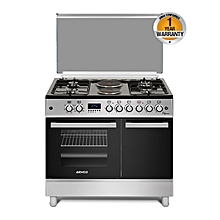 GC-F9642ZBT(SL) - 4 Gas & 2 Electric Oven + Grill - Stainless Steel