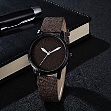 Blicool Wrist Watch GAIETY New Men Women Fashion Leather Bracelet Quartz Cowboy Wrist Watch Jewelry-As Picture