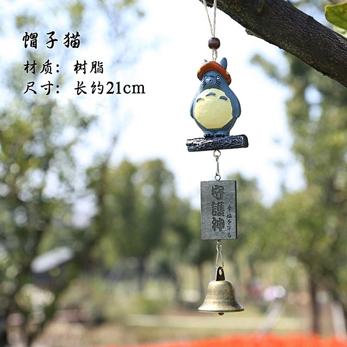 1Hat TotoroThe Japanese Breeze Bell Hangs An Amiability To Send Gui Honey Girl Friend Creativity Birthday