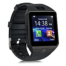 DZ-09 Smart Watch Phone for Android and Apple - Black