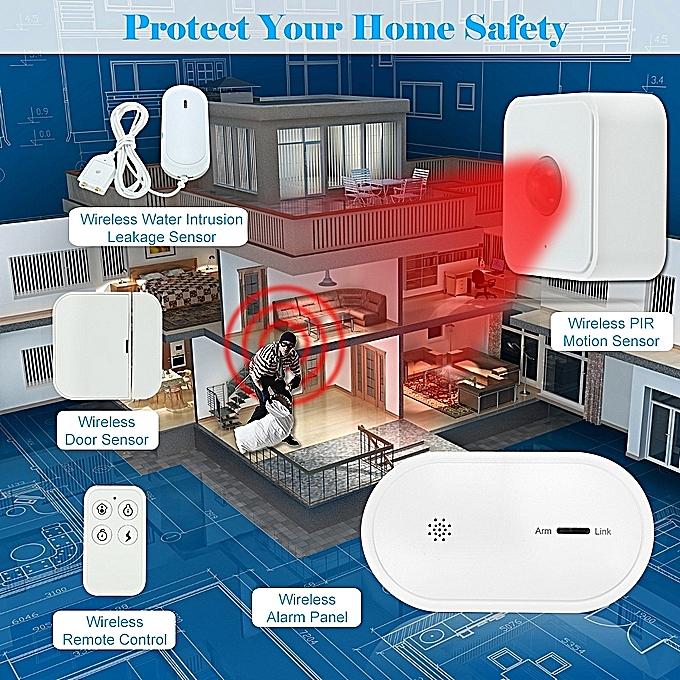 Generic 433mhz Wireless Gsm Wifi Sms Auto Dial Alarm Security System