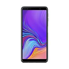 "Galaxy A7 (2018) - 6""- 4GB RAM, 128GB ROM - 24MP + 24MP Triple Camera - 4G LTE - Black"
