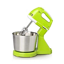 Electric Egg Mixer Stainless Steel Cream Stirring Machine - Green