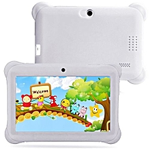 Kids Tablet PC 7 Android 4.4 Case Bundle Dual Camera 1.2Ghz Wi-Fi Bonus Items-White