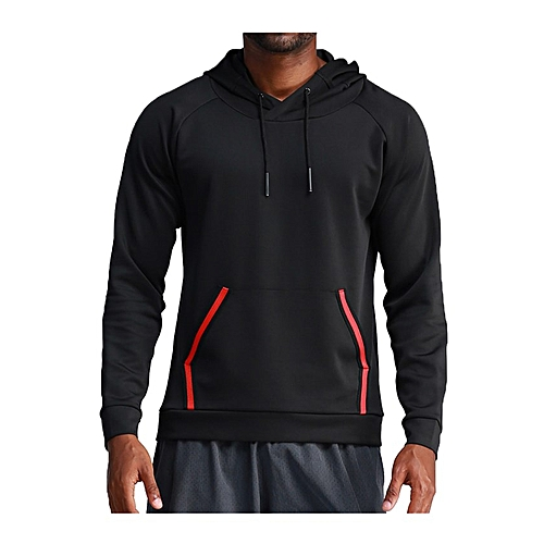 5ac6b4e8 Generic Men's Gym Workout Active Muscle Bodybuilding Long Sleeve Hoodies