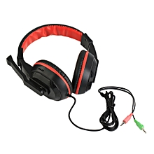 3.5mm Gaming Stereo Headset Earphone Headphones For Xiaomi MP3 MP4 Mic PC Computer Laptop Auriculares Headset