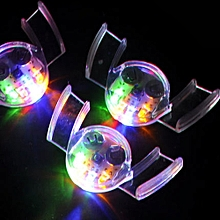 LED Light Up Flashing Mouth Piece Glow Teeth For  Party Rave Event
