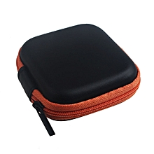Xiuxingzi_Zipper Storage Bag Carrying Case for Hard Keep Earphones SD Card Area OR