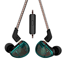 KZ AS10 In Ear Headphone Moving Iron 5BA 5 Balanced Headset w/2Pin Cable  XYX-S