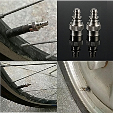8PCS BICYCLE BIKE CYCLE TYRE TUBE SCHRADER ADAPTOR VALVE FOR AIR PUMPS