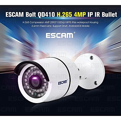ESCAM QD410 4MP Outdoor Water-proof IR IP Bullet Camera SELMA
