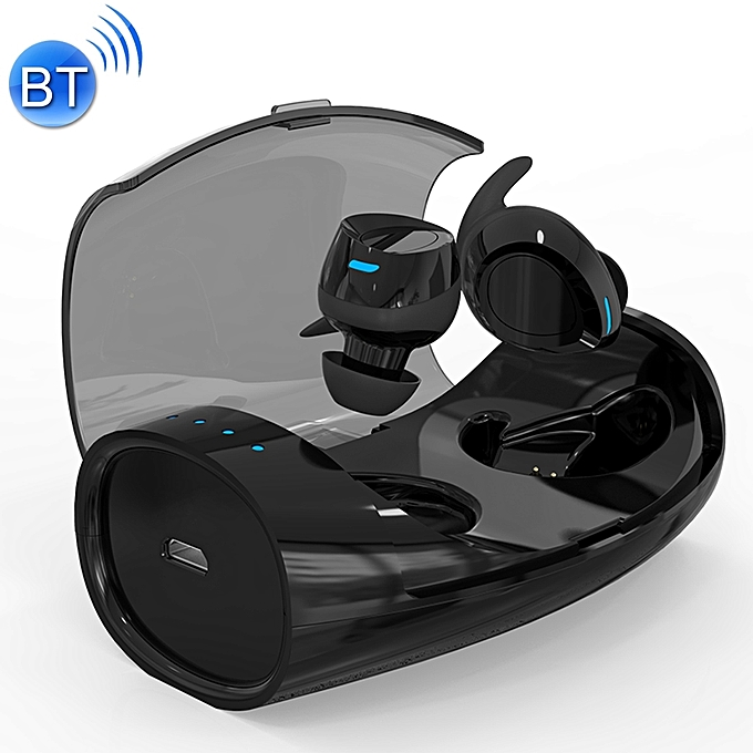 edefe2224be Sweat-proof Earbuds Sports Wireless Bluetooth V4.2 Stereo Headset with  Charging Case,