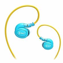 QKZ DM100 Waterproof Sweatproof IPX5 In Ear Sports Headset with Mic