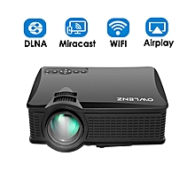 WIFI LED Projector 1080p HD MAX HDMI USB Support -200 Inches