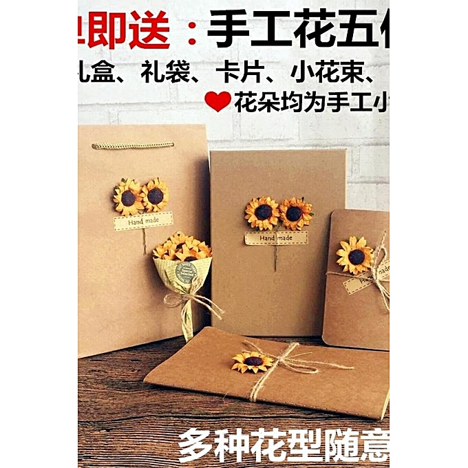 Birthday Gift Girl Girlfriends Diy Creative Send His Girlfriend Classmates Literary Practical Small Fresh Retro