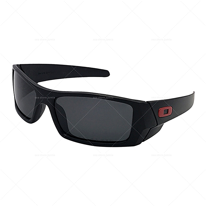 27ef668334 Oakley Gascan Polarized Sunglasses OO9014 - Black Frame Grey Lenses ...