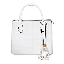 White Kelly Bag