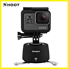 SHOOT 360 Degree Panning Rotating Time Lapse For Gopro DSLR Yi SJCAM Eken Stabilizer Smartphone