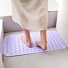 PVC Massage Skid Bath Sucker Mat with Suction Cups Anti Slip Safety Shower Carpet Bathtub Bathmat