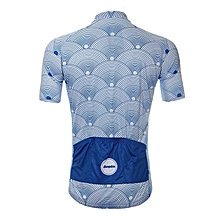 Cycling Jersey Shirt Short Sleeve Breathable Biking Top Mountain Sport Mens Zip