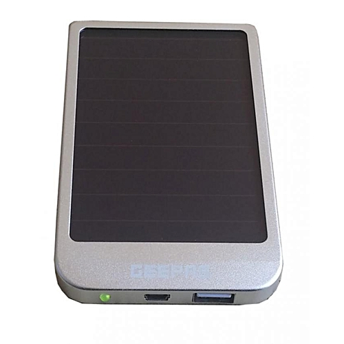 GSC1752 - Power Bank - Solar/AC Charger – Silver