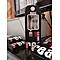 Earphone Bass Sound Music Headset Sport Earphones headphones with Mic - Red+Black