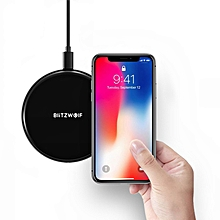 BlitzWolf® BW FWC3 5W Wireless Charger Charging Pad for iPhone X 8 Plus S8 Note 8 S9