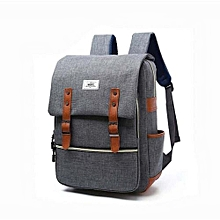 Laptop Backpack Fashion Leisure Travel Bag For Women - Gray
