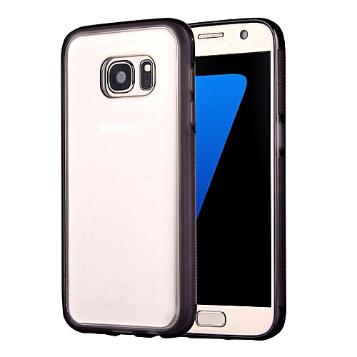 For Galaxy S7 / G930 Anti-Gravity Magical Nano-suction Technology Sticky  Selfie Protective Case(Grey)