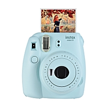 Instax Mini 9 Instant Camera Film Cam with Selfie Mirror 2pcs Battery