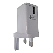 Double charge flash charger For All Phones - White