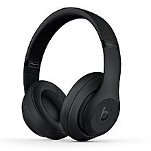 Studio 3 Wireless Headphones Bluetooth Headset On-ear Music Headphones Noise Reduction Earphones w/Microphone Black Second-hand No Package No Accessories