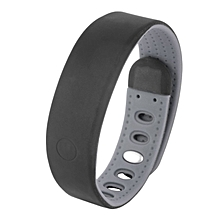 Healthy Smart Sport Wristband Sleep Monitor Temperature Bracelet Smart Watch Black+Gray