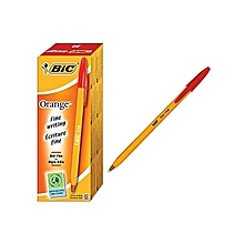 Bic Biro Sharp Pointed Red - 20pcs