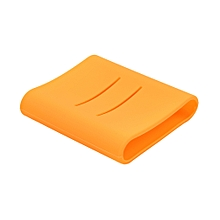 Soft Silicone Protective Case for Xiaomi 10400mAh Power Bank Portable Charger Orange