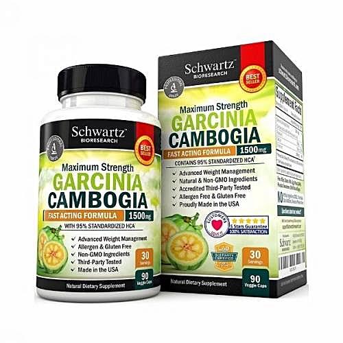 Garcinia Cambogia 95 Hca Pure Extract With Chromium