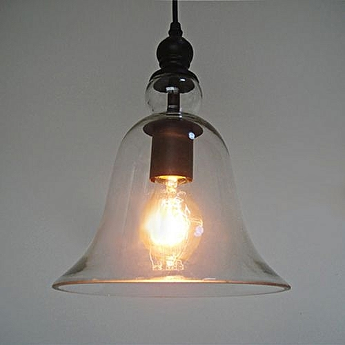 036 Industrial Bell Glass Lamp Shade