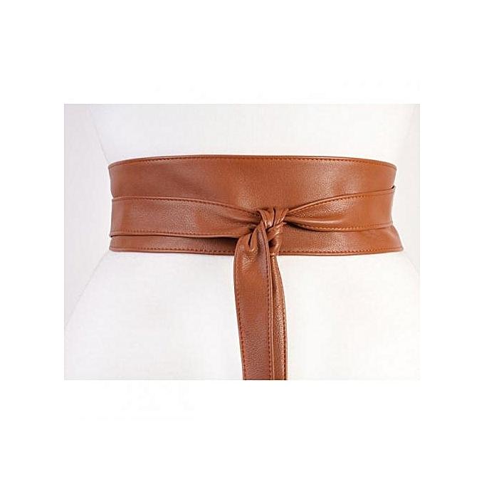 Generic Obi Belt - Brown   Best Price  08fc640a9