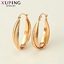XUPING 18K fashion Earrings-Gold