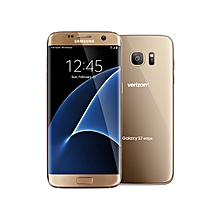 "Galaxy S7 Edge - 5.5""- 32GB - 4GB RAM - 12MP Camera - Dual SIM - Gold + FREE Screen protector"