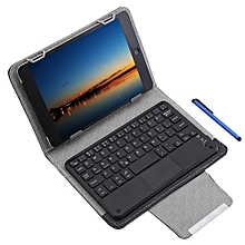 3 In 1 Universal Bluetooth Keyboard Touch Control Tablet Case 7 / 8 Inch - Black