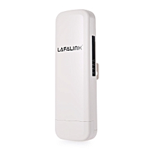LAFALINK LF - OAP30 High Power 5dBi Outdoor Full Coverage CPE Wireless Bridge AP WHITE CHINESE PLUG